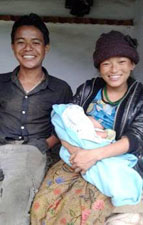 Baby Limbu Survives Due to the Efforts of Lingkhim Health Post